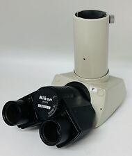 Nikon F Trinocular Microscope Photo Ready Head For Labophot Optiphot Alphaphot