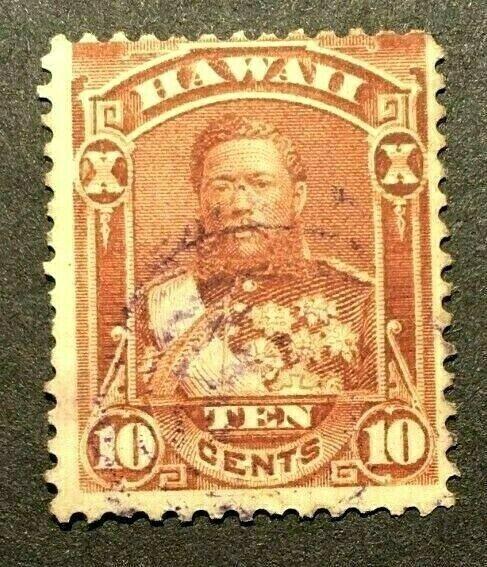 HAWAII  SCOTT  #44     USED--LC