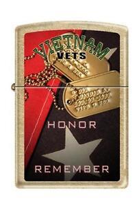 Zippo 207G vietnam vets honor remember Lighter