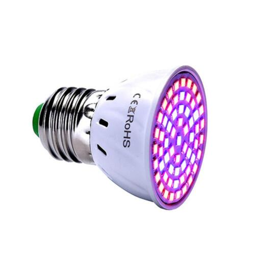 E27 LED Grow Light Growing Lamp For Plant Hydroponic Full Spectrum ...