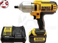 Dewalt Dcf889m2 Dcf889b 20v Max Lithium Ion Cordless 1/2 Impact Wrench Kit