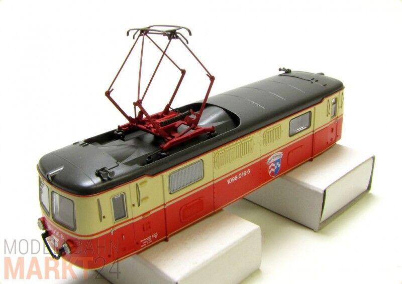 Ersatz-Gehäuse ÖBB Mariazellerbahn 1099.016-6 für ROCO Elektrolok 1099 H0e NEU