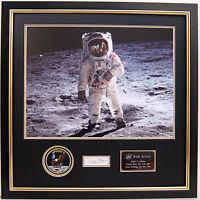 Buzz ALDRIN Signed Autograph FRAMED Apollo 11 Moonwalker Astronaut AFTAL COA D