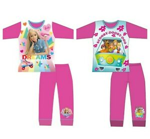 Girls Barbie Pyjamas Nightwear