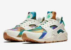 Details about NEW Sz 10 Men's Nike Air Huarache Run Print Alternate Galaxy AQ0533 100