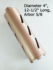 Diamond Drill Bit Core Boring Concrete Drill 12 12 Long Diameter Size 4