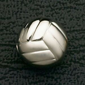 Volleyball-Stainless-Steel-Bead-Fits-European-Charm-Bracelet-Christmas-Gifts-New