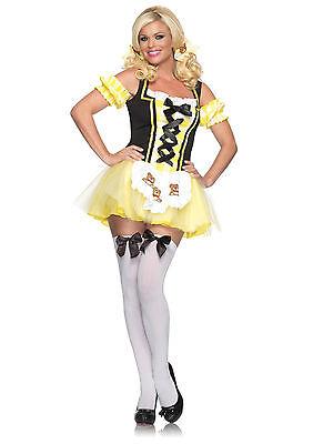 Sexy Halloween Adult Lil' Miss Goldilocks Costume