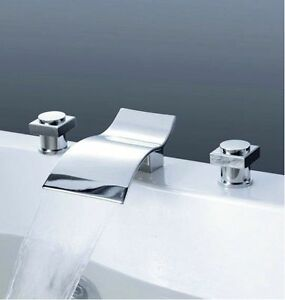 ... -Spout-Bathroom-Basin-Mixer-Tap-Bathtub-3-Piece-Faucet-Set-rgrstg4