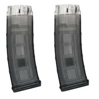 Rap4 T68 468 Dmag D-mag Helix 20rd Round Paintball Magazine - 2 Pack - Smoke
