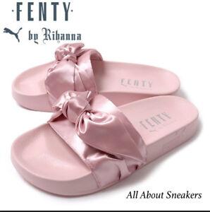 7a93ad0a0682 Puma Rihanna Fenty Bow Pink Slide (Rose) 365774-03 Limited One YOGI ...