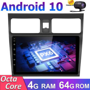 Android 10 Car Stereo SAT NAV For Suzuki Swift 2005-NOW GPS Head Unit 4GB+64GB