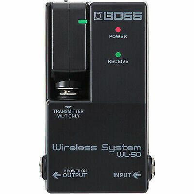 boss wl 50 wireless system transmitter receiver guitar for sale online ebay. Black Bedroom Furniture Sets. Home Design Ideas