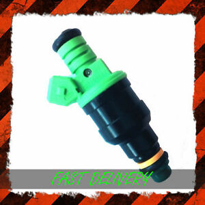 High-Flow-EV1-42lb-440cc-Fuel-Injector-0280150558-Green-Top-Giant-Greens-RS-Ford