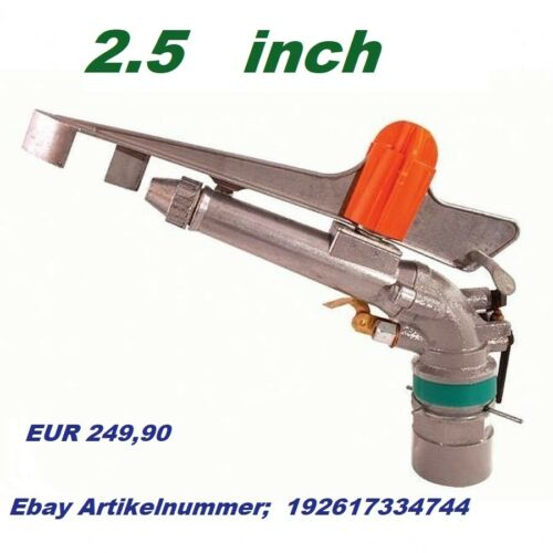"Kreisregner 1,5/"" Zoll PROFI Impulsbetriebs-Beregner YUZUAK Atom28 Impulsregner"