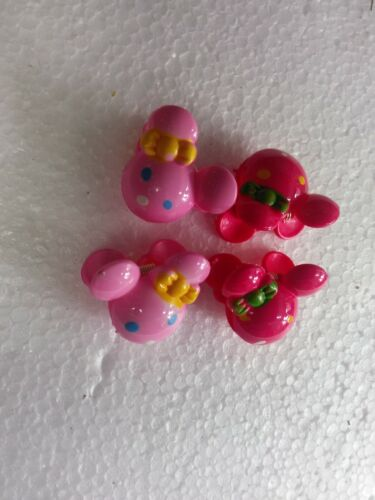 4pcs mini micky hair claw clips hair grips for girls