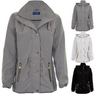 Image is loading Womens-Long-Sleeve-Lightweight-Smart-Hooded-Jacket-Rain- e72b38ecd