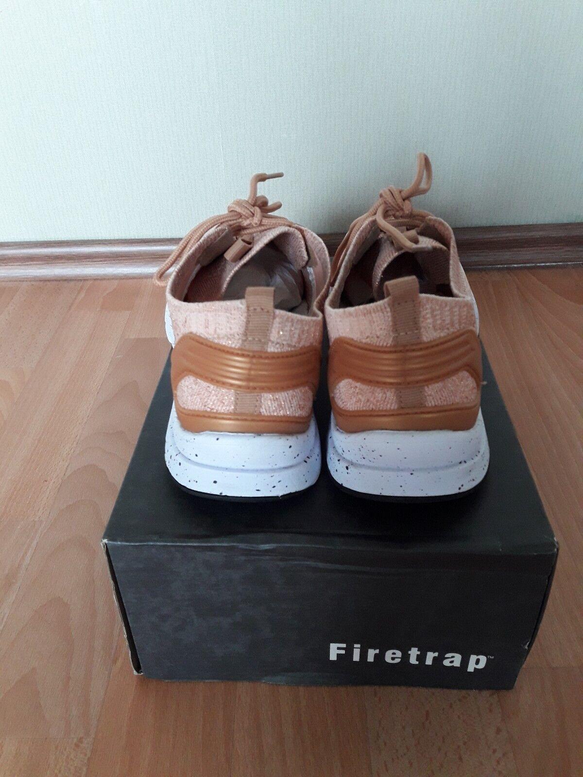 Firetrap Sneaker 41 kupfer Rosegold Gold Turnschuhe Sneakers kupfer 41 bronze metallic 864555