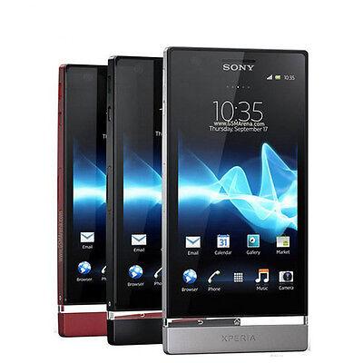"""Original Unlocked Sony Xperia P LT22i LT22- 4.0"""" 3G 16GB 8MP Wifi NFC Smartphone"""