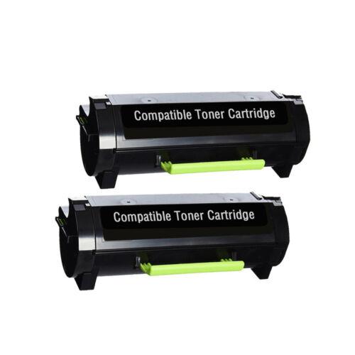 2 Pack 50F1H00 501H Lexmark Toner Cartridge for Lexmark MS310d MS410d MS510dn
