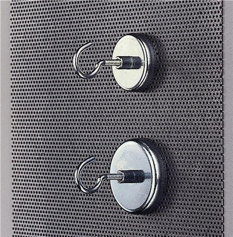 Kraftmagnet mit Haken 47x9mm verz., 5 St. | Moderne Muster  | Louis, ausführlich  | Realistisch