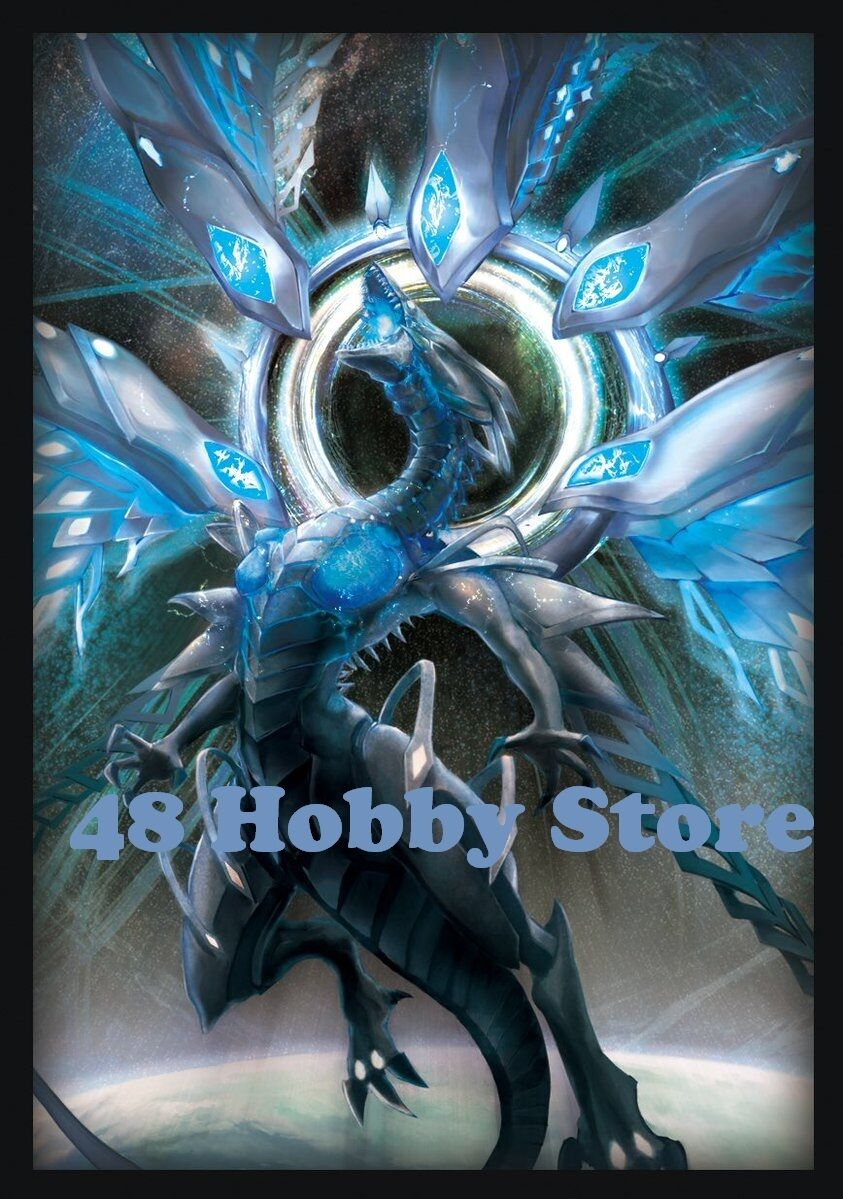 Yugioh Deep-Eyes White Dragon Event Limited Card Sleeves bluee-Eyes