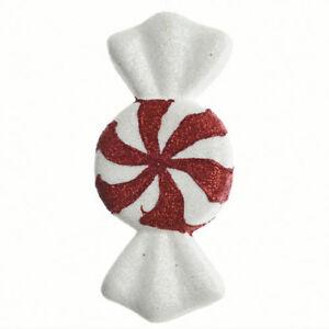 Decorazioni Natalizie Caramelle.Decorazioni Albero Di Natale Caramella Candy Rosso Bianco Addobbi Natalizi Ebay