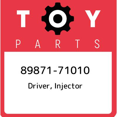 8987171010 GENUINE Toyota DRIVER INJECTOR 89871-71010 OEM