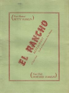 Vintage-1940s-1950s-EL-RANCHO-RESTAURANT-Menu-Truth-or-Consequences-New-Mexico
