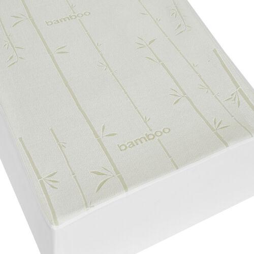 Waterproof Antibacterial Hypoallergenic Bamboo Mattress Protector