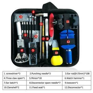 147-PC-Tornillo-De-Correa-De-Reloj-caso-cambiar-kit-de-herramientas-para-ROLEX-o-Cuero-Correa-De