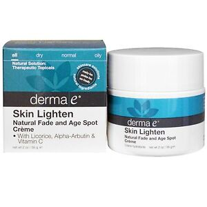 does derma e skin lighten work