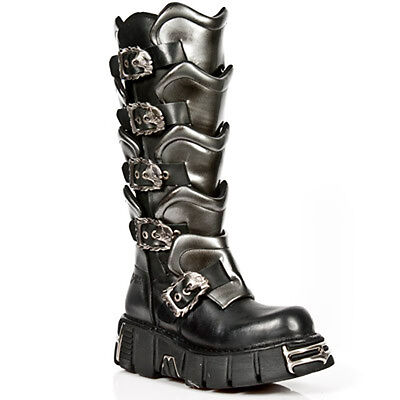 New Rock Boots Mens Style 738 S1 Black