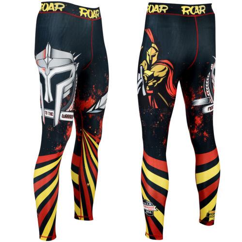 ROAR BJJ Rash Guard /& MMA Shorts Jiu Jitsu Spats NoGi Sets With Free Mouth Guard