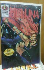 ** Fury of Hellina Jan #1 Lightning Comics - First Cult-bashing Issue B **