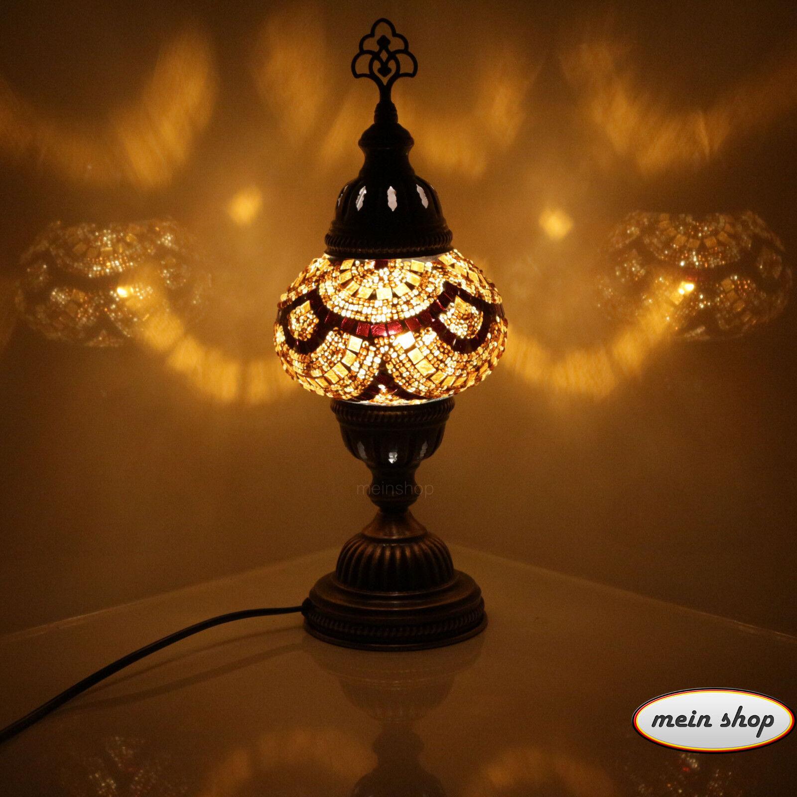 Mesa lámpara mosaico lámpara Mesa turquía mosaiklampe 100% mano trabajado orientales lámpara M 3e77e0