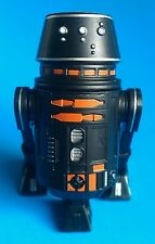 Star Wars 2015 Disney BAD Build a Droid Factory Black and Orange R5 Top Hat New