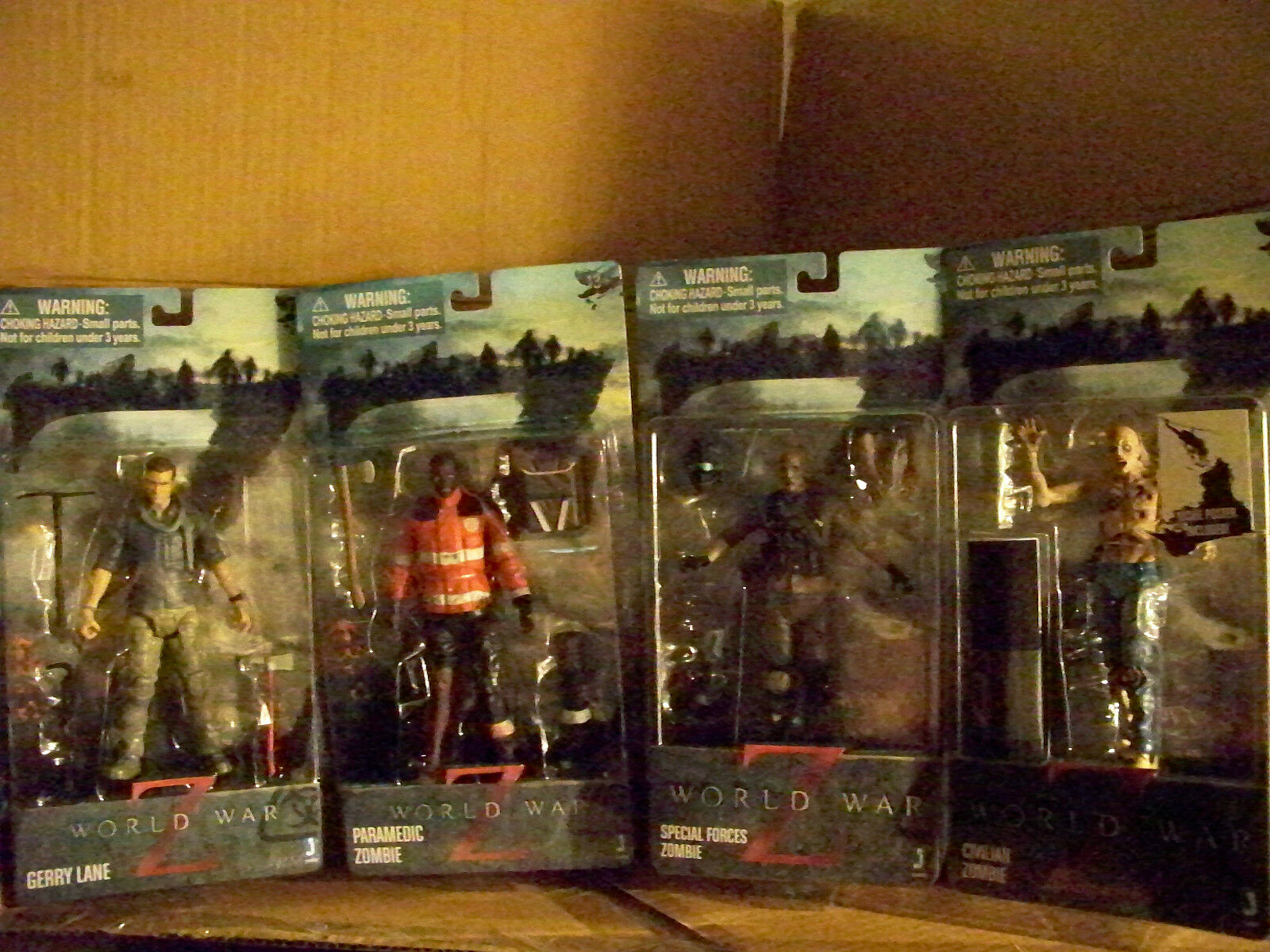 World War Z Action Figures (Complete Set) Set) Set) ce102e