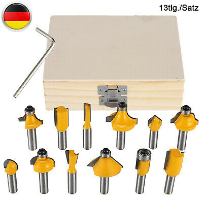 HM Fräsersatz 8 tgl Schaft 8 mm Nutfräser Fräser Holzfräser Oberfräser Set