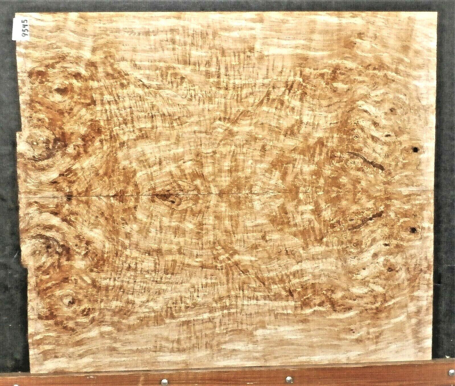 Gespaltener Ahorn Instrument Holz Artist Qualität 5a Wild E-Bass Top Set