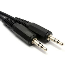 3.5mm Stereo Jack to Jack Audio Cable Lead 0.25m 25cm