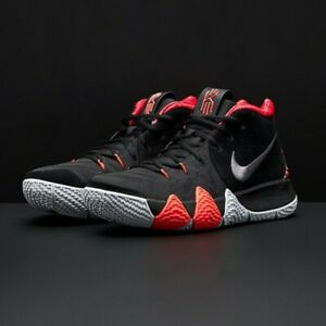 best cheap 7260b 2baf7 Details about Nike Kyrie 4 Think 16 Black Red Size 9.5. 943806-005 Jordan  Kobe