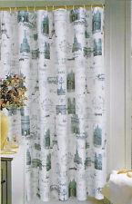 "Paris Eiffel Tower Fabric Shower Curtain Popular Bath 70""x72"""