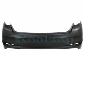 Primed CAPA CAMRY 15-17 FRONT BUMPER COVER