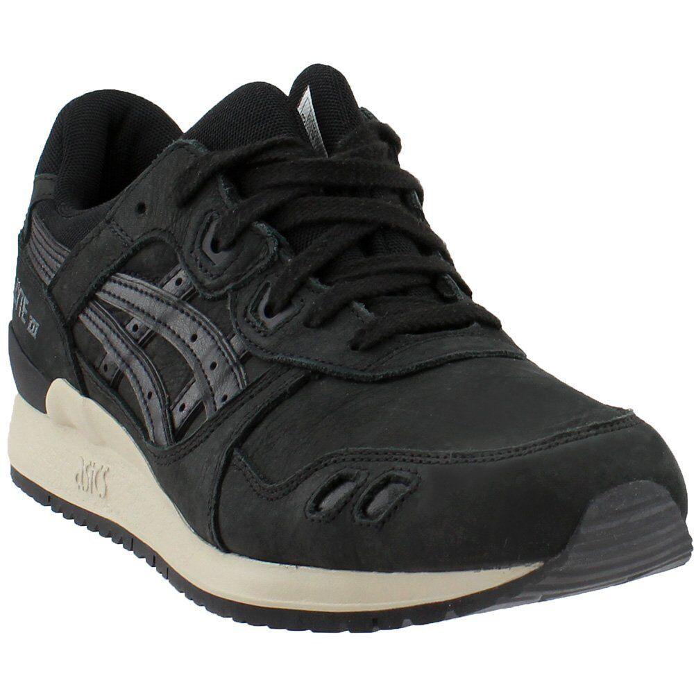 ASICS GEL-Lyte Zapatillas-Negro-Para Hombre III