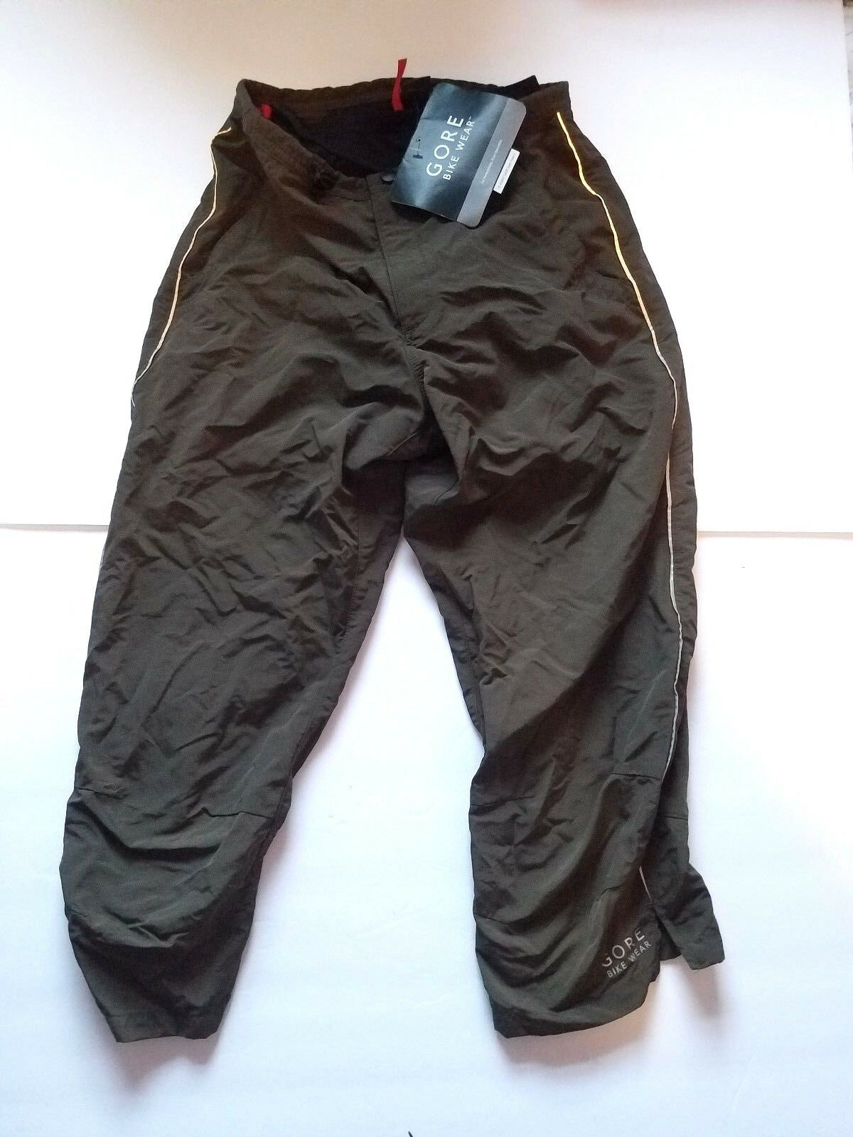 NEW Gore Bike Wear Women's Countdown Lady Cycling Pants 3 4 Olive Size XS Capri