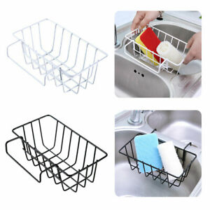 Kitchen-Sink-Organiser-Hanging-Storage-Basket-Dish-Cleaning-Drying-Sponge-Holder