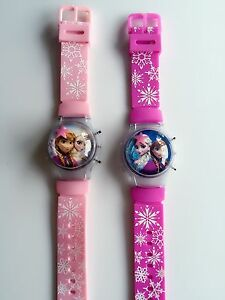 Girl kid child pink frozen elsa anna digital wrist watch birthday image is loading girl kid child pink frozen elsa anna digital negle Gallery