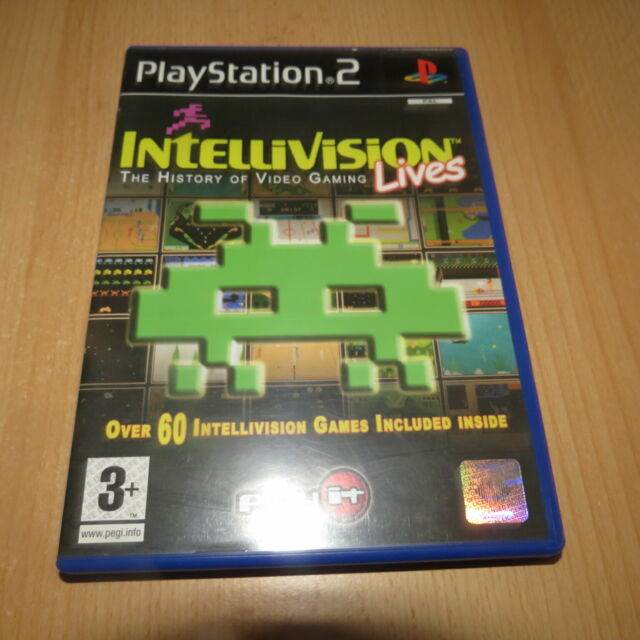 Intellivision Lives: The History of Video Gaming Sony PS2 pal version