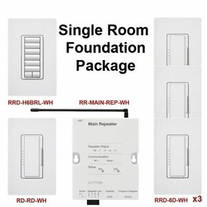 Details about ❶RadioRA2 Starter Kit Programmed Just for you Lutron on